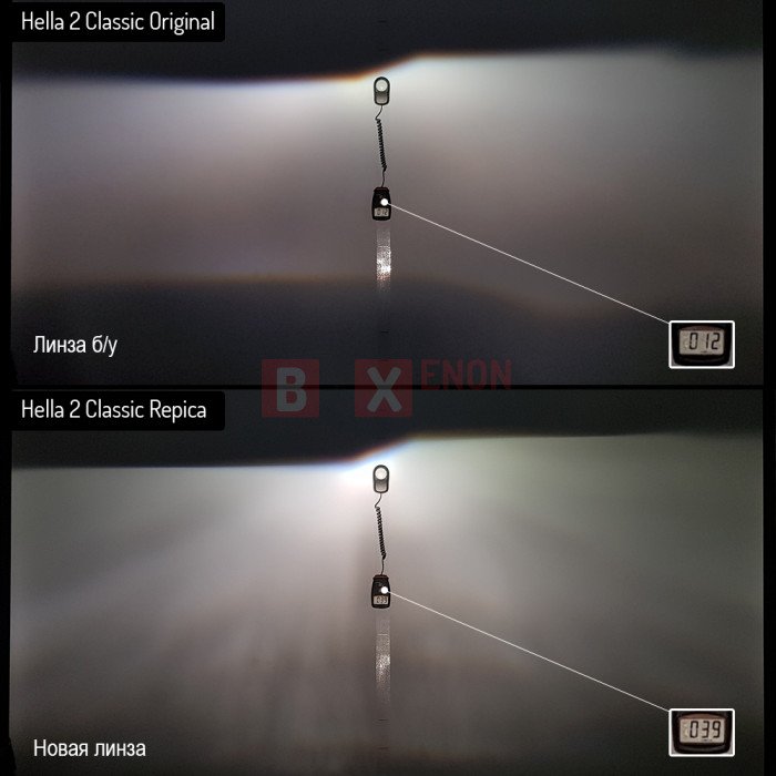 Биксеноновые линзы Hella 2 Classic Replica