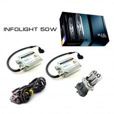 Комплект Биксенона Infolight H4 H/L 50W