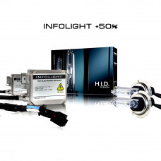Комплект ксенона Infolight 35W +50%