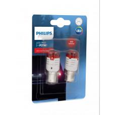 Светодиодная лампа PHILIPS P21W LED 12V Ultinon Pro3000 SI RED 11498U30RB2