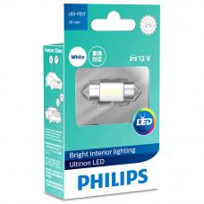 Светодиодная лампа PHILIPS Festoon LED 6000K 30mm 12V Ultinon 11860ULWX1
