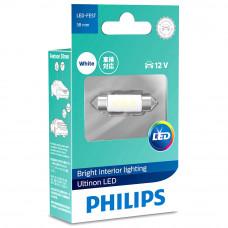 Светодиодная лампа PHILIPS Festoon LED 6000K 38mm 12V Ultinon 11854ULWX1