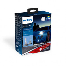 Светодиодная лампа PHILIPS LED H1 X-tremeUltinon +200% 5800K 11258XUX2 Комплект