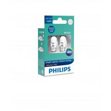Светодиодная лампа PHILIPS LED W5W T10 6000K 12V 11961ULWX2