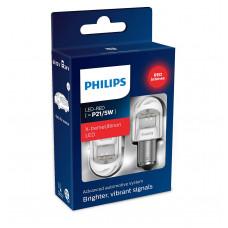 Светодиодная лампа PHILIPS P21/5W LED 12/24 X-Treme Ultinon RED 11499XURX2