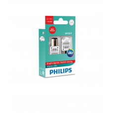 Светодиодная лампа PHILIPS P21/5W LED 12V Vision RED 12836REDX2