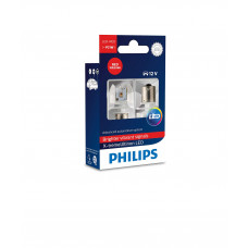 Светодиодная лампа PHILIPS P21W LED 12/24V X-Treme Ultinon RED 12898RX2