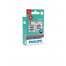 Светодиодная лампа PHILIPS P21W LED 12V Vision RED 12838REDX2