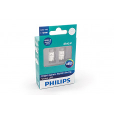 Светодиодная лампа PHILIPS LED T10 W5W 6000K