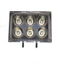 Светодиодная фара AllLight 39 EPISTAR 18W