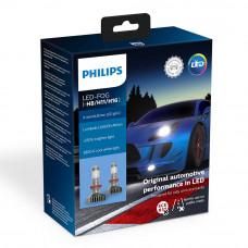 Светодиодная лампа PHILIPS LED Fog H8/H11/H16 X-treme Ultinon Gen2 +250% 11366XUWX2