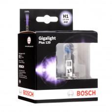 Галогенная лампа BOSCH H1 Gigalight Plus 120% 55W 12V 1 987 301 105 Комплект
