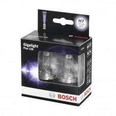Галогенная лампа BOSCH H7 Gigalight Plus 120% 55W 12V 1 987 301 107 Комплект