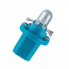 Галогенная лампа NARVA Bax 1.2W 12V BX8.4D BLUE 17029
