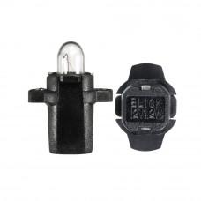 Галогенная лампа NARVA Bax 1.2W 12V BAX10S BLACK 17036