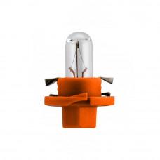 Галогенная лампа NARVA Bax 1.0W 12V BX8.5D ORANGE 17019