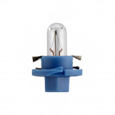 Галогенная лампа NARVA Bax 1.2W 12V B8.4D LIGHT BLUE 17027