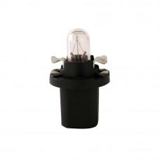 Галогенная лампа NARVA Bax 1.2W 12V BAX10D BLACK 17035