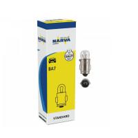 Галогенная лампа NARVA T2W 12V 2W BA7s 17051