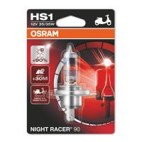 Галогенная лампа Osram HS1 Night Racer +90% 35/35W 12V 64185NR9 Blister