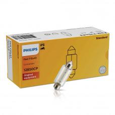 Галогенная лампа PHILIPS C15W 43mm Vision 12850CP