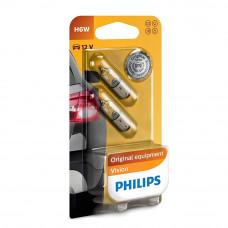 Галогенная лампа PHILIPS H6W Vision 12036