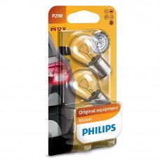 Галогенная лампа PHILIPS P21W Vision 12498B2