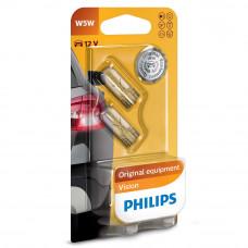 Галогенная лампа PHILIPS W5W Vision 12961B2