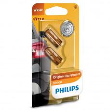 Галогенная лампа PHILIPS WY5W Vision 12396NAB2