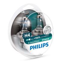 Галогенная лампа PHILIPS 12342XVSP+ H4 X-treme Vision + 130%