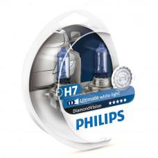 Галогенная лампа PHILIPS H7 Diamond Vision 12972DVSP