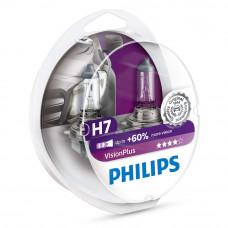 Галогенная лампа PHILIPS H7 Vision +60% 12972VPS2
