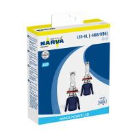 Светодиодная лампа Narva HB3/HB4 6000K 18014 Комплект