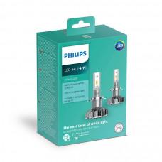 Светодиодная лампа PHILIPS LED H7 Ultion +160% 11972ULWX2