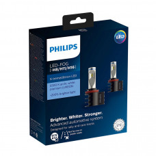 Светодиодная лампа PHILIPS LED H8/H11/H16 X-treme Ultinon +200% 12794UNIX2