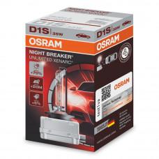 Ксеноновая лампа OSRAM D1S Night Breaker Unlimited +70% 66140XNB