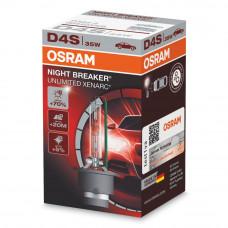 Ксеноновая лампа OSRAM D4S Night Breaker Unlimited +70% 66440XNB В