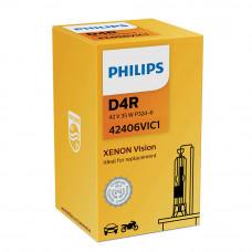 Ксеноновая лампа PHILIPS D4R Vision +30% 42406VIC1