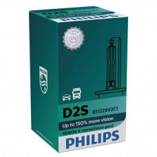 Ксеноновая лампа PHILIPS D2S X-treme Vision gen2 +150% 85122XV2C1