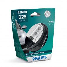Ксеноновая лампа PHILIPS D2S X-tremeVision gen2 +150% 85122XV2S1