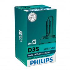 Ксеноновая лампа PHILIPS D3S X-treme Vision gen2 +150% 42403XV2C1