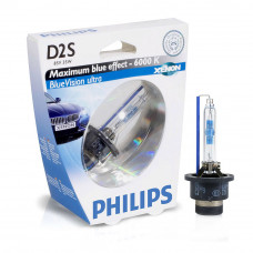 Ксеноновая лампа PHILIPS D2S Blue Vision Ultra 85122BVUS1