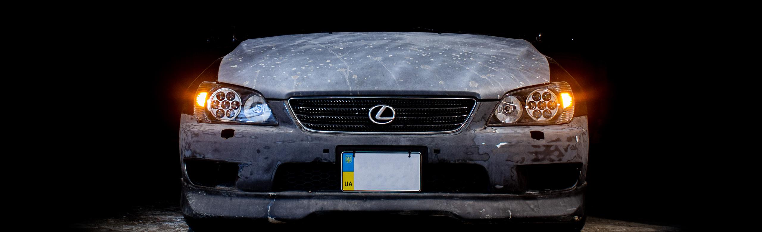 LEXUS IS V8 установка монолинз с Nissan Cima